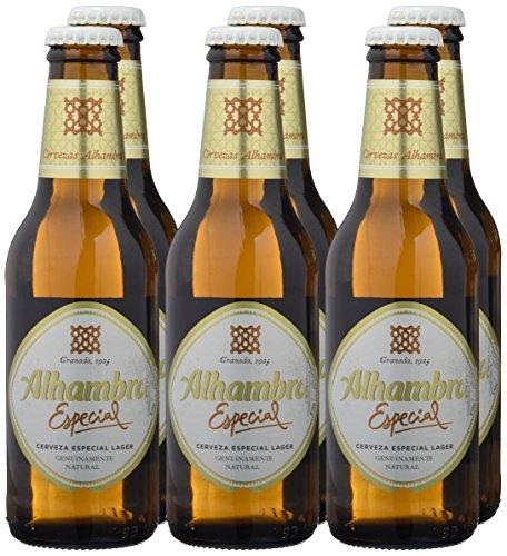 Alhambra Especial Cerveza con Alcohol - Paquete de 6 x 250 ml - Total: 1500 ml