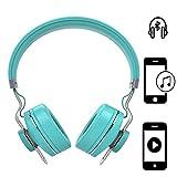 Handy Kopfhörer | für Gionee A1 Plus | CSR 4.0 + EDR Wireless | Stereo Sound Bluetooth Headsett | Kopfhörer Türkis ZA1