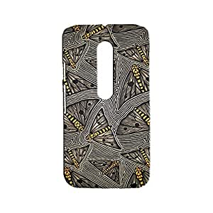 ROCKY Designer Printed Back Case / Back Cover for Motorola Moto X-Play (Multicolour)