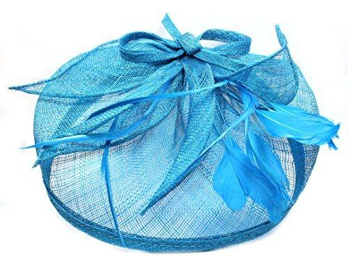 Couvre-chef grande taille pour femmes - événements mariage 4603 - -, Bleu