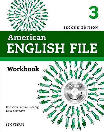 American English File 2nd Edition 3. Workbook without Answer Key Pack (American English File Second Edition)