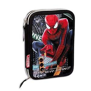 Plumier Spiderman Amazing Doble