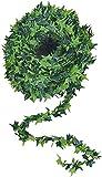 Efeu-Ranke, künstlich, 750 cm, 2 Grüntöne