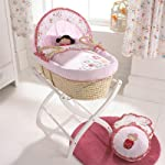 Izziwotnot Cherry Blossom Maize Moses Basket