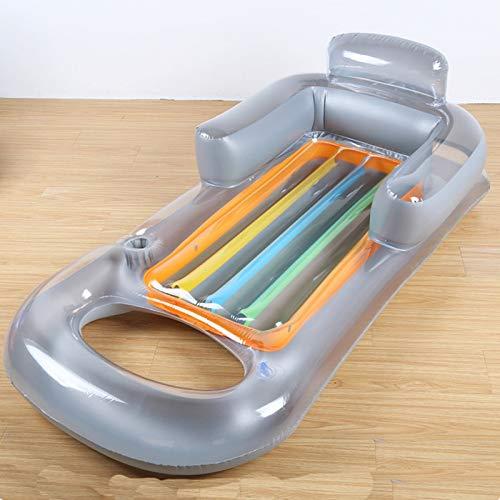 ZXCVBW2019 Neue hohe qualität aufblasbare Wasser Liege mit arm Sofaschwimm schwimmring Wasser SpielzeugWasser aufblasbares Bettschwimmende Reihe (Arm-sofa Hohe)
