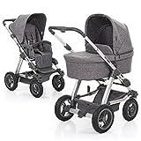 ABC Design Kombi-Kinderwagen Set Viper 4 – Komplettset, inkl. Baby-Tragewanne für Neugeborene, wird mit umsetzbarer Sportwagen-Sitzeinheit zum Buggy - Track
