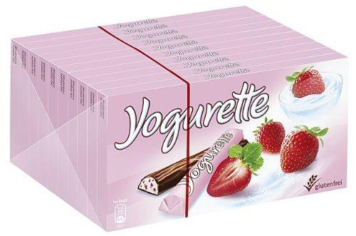 Preisvergleich Produktbild Yogurette 10 Tafeln,  1er Pack (1 x 1 kg Packung)