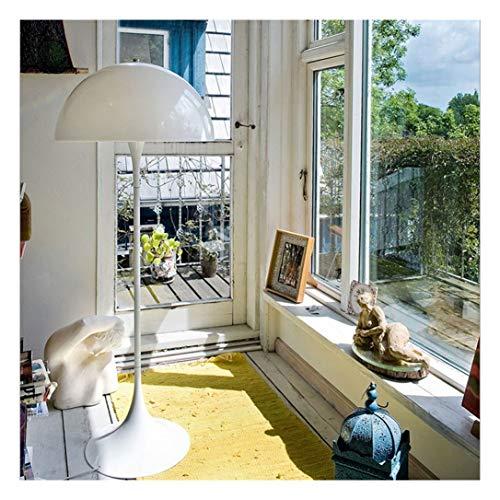 WYQSZ Lámpara de pie - Lámpara de pie Moderna y Simple IKEA Jardín Sala de Estar Dormitorio Lámpara de cabecera Moda Sala de Estudio Creativa Lámpara -7820 lámpara de Piso