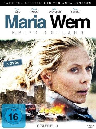 Maria Wern: Kripo Gotland - Staffel 1 [3 DVDs] hier kaufen