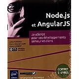 Node.js et AngularJS - Coffret de 2 livres : JavaScript pour vos développements serveur et client