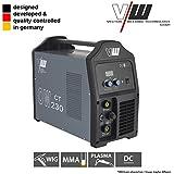VECTOR Schweißgerät DC WIG OW230 Puls m. plasma Inverter TIG CUT MMA Elektrode MOSFET / WIG, TIG / PLASMA / MMA, ARC - -3 IN 1 -- TOP PREIS --