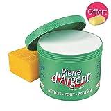 Pierre d'Argent 800g - Pierre blanche naturelle de nettoyage