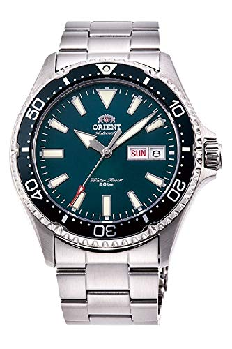 Orient Mens Analogue Automatic Watch with Stainless Steel Strap RA-AA0004E19B