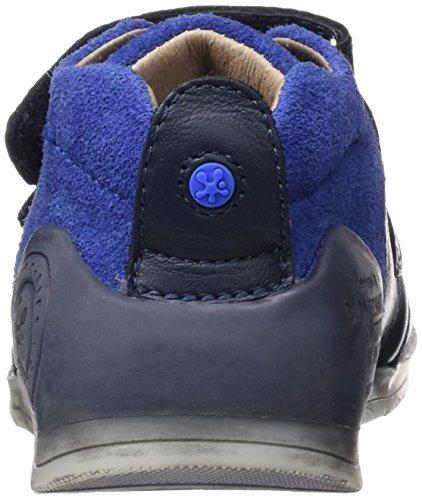 Biomecanics 161143, Bottes mixte bébé Bleu - Azul Marino / Serraje Azul Electrico (Sauvage / Serraje)