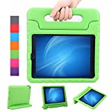 NEWSTYLE Apple iPad Air 2 Kinder Hülle Case mit klappbar Handgriff Superleichte Stoßfeste Schutzhülle Tasche Cover für iPad Air 2 / iPad 6 (9,7 Zoll) (grün)
