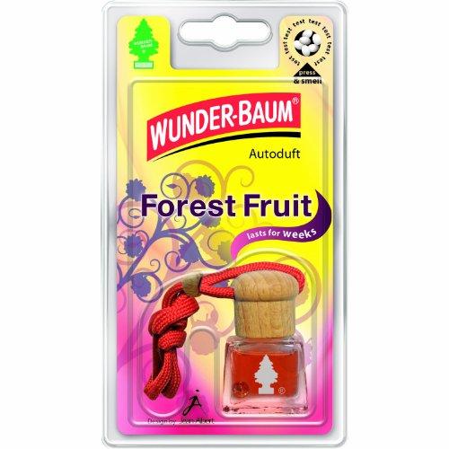 Preisvergleich Produktbild Wunder-Baum 461202/4 Lufterfrischer 4-er Set Duftflakon Forest Fruit
