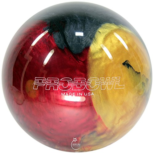Bowling Ball Ebonite Pro Bowl ruby gold grey, 10 lbs