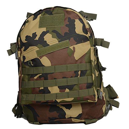 Zaino Militare Sport all' aperto borse zaino da escursionismo e campeggio arrampicata Sacchetti, CP Jungle Camo