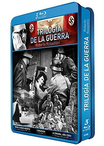 Rosellini – Trilogia de la Guerra – Caja Metálica [Blu-ray] 51kp1r754NL