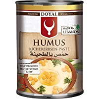 Doyal, Hummus para mojar y untar - 12 de 400 gr. (Total 4800 gr.)