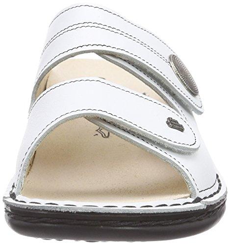 Finn Comfortsansibar - Chaussons Femme Blanc (blanc (weiss))