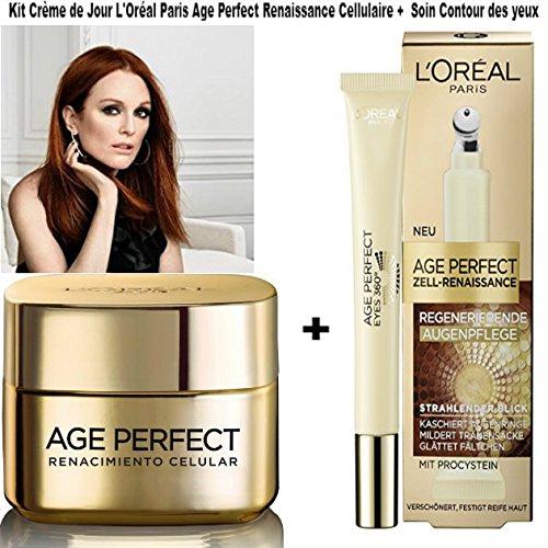 L 'Oréal Paris Age Perfect Zell-Renaissance-Aging Tagespflege 50ml + Age Perfect Zell-Renaissance...