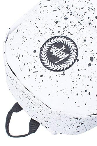 Hype Rucksack Tasche - Verscheidene Farben weiß/schwarz
