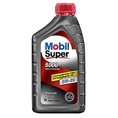 Mobil 120433-6PK Super Duty Engine Oil (5W20 6/1Qt) by Mobil 1