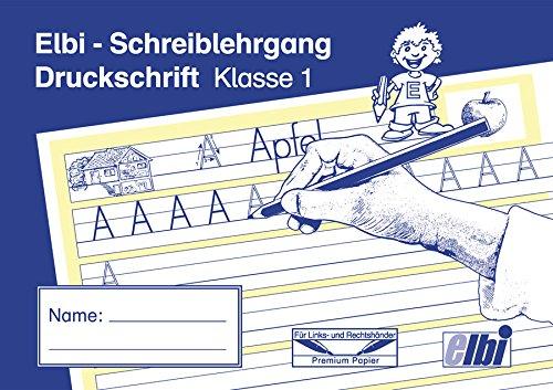Elbi Schreiblehrgang Druckschrift - Schreiben lernen