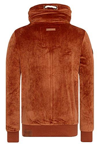 Naketano Male Zipped Jacket Ivic Mack IV Copper