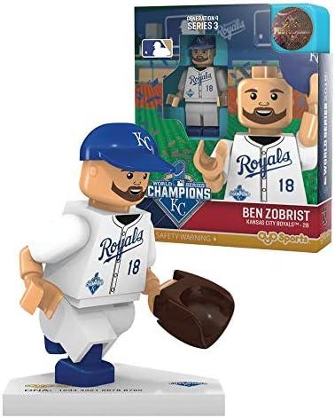 Ben Zobrist - World Series Champion OYO MLB Kansas City Royals G4 Series 3 Mini Figure Limited Edition   à L'aise