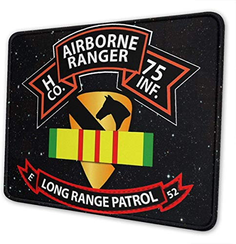 Company H 75th Infantry Ranger 1st Cavalry Division Vietnam Mouse Pads Gaming Mouse Pad Mousepad for Working Office Home