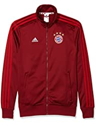 Chaqueta de chándal para hombre Adidas FC Bayern München Rojo Craft Red F12/Fcb True Red Talla:XXXL