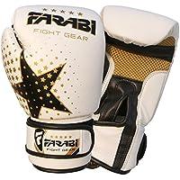 Farabi Gants de boxe enfant - Pour MMA, Muay thai, punching ball - 170g