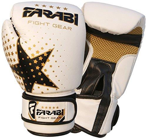 Farabi Gants de boxe pour enfant - Pour MMA, Muay...