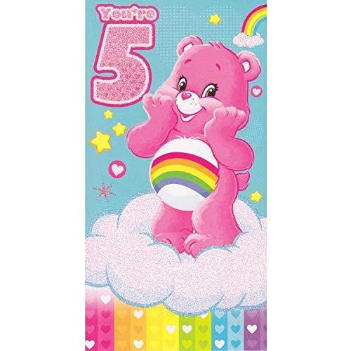 (Care Bears Alter 5Geburtstagskarte)