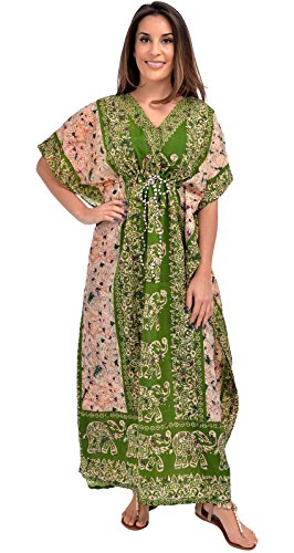 Nightingale Collection - Robe - Femme - Vert - Taille Unique