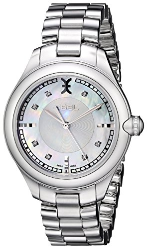 Ebel Damen-Armbanduhr Onde 1216136 - Diamanten Damen Ebel Uhren