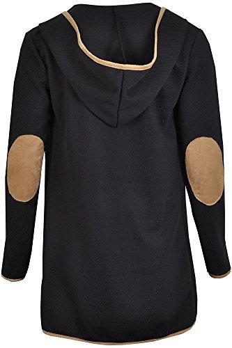 The Home of Fashion - Gilet - Femme Taille Unique Noir