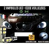 Pack lamparillas LED de color blanco Xenon para Seat Leon 2