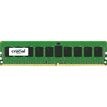 Crucial 288-Pin 8 GB DDR4 2133 MT PC4-2133 CL15 DR x8 ECC Unbuffered DIMM Memory Module