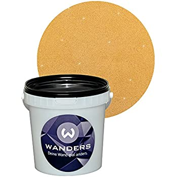 1kg ca 1liter grundpreis 22 90 kg effektfarbe gold - Metallic farbe wand ...