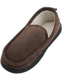 SlumberzzZ - Zapatillas de estar por casa de Material Sintético para mujer marrón marrón, color marrón, talla 39-40 EU