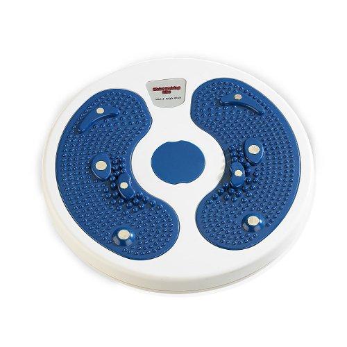 newgen medicals Hüfttrainer: Fitness Waist Twisting Disk für die schlanke Taille, Ø 28cm, bis 90kg (Fitness Drehscheibe)