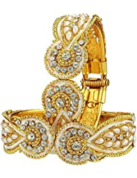 Shining Diva Gold Plated Bangles for Women