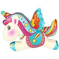 Ice.mask 1Pcs Cute Squishy Doll Unicornio en forma de espuma suave Extrusión Fragante Kawaii Juguetes Descompresión