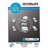 atFoliX FX-Clear Protection d'écran pour Leica C-Lux 1 (3 pièces) - protection d'écran ultra-claire!