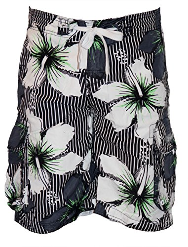 "Hawaiian Mann ""Ted"" shorts Weiß"