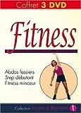 Coffret Fitness : Abdos fessiers + Step débutant + Fitness...