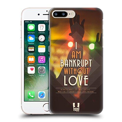 Head Case Designs Für Immer Christliche Typografie Ruckseite Hülle für Apple iPhone 5 / 5s / SE Ohne Deine Liebe
